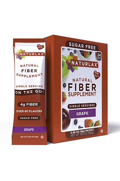 Grape Flavored Fiber Packets (24-Pack)