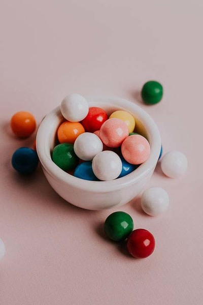 Bubble Gum Flavored Fiber for Kids