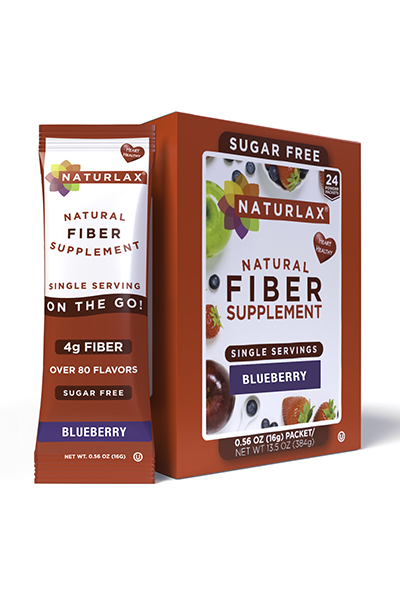Blueberry Flavored Fiber Packets (24-Pack)