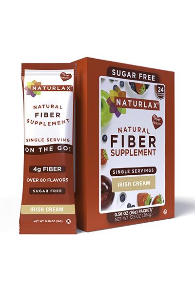 Irish Cream Flavored Fiber Packets (24-Pack)