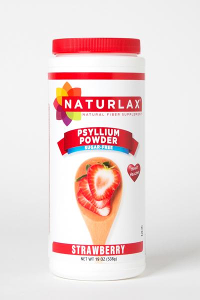 Strawberry Flavored Psyllium Husk Powder