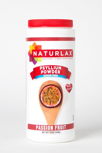 Passion Fruit Flavored Psyllium Husk Powder