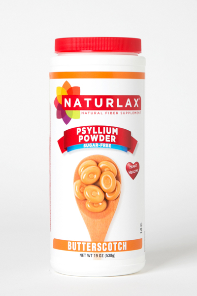 Butterscotch Flavored Psyllium Husk Powder