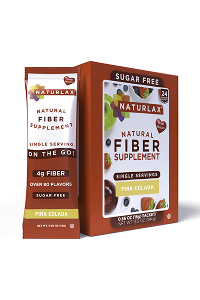 Pina Colada Flavored Fiber Packets (24-Pack)