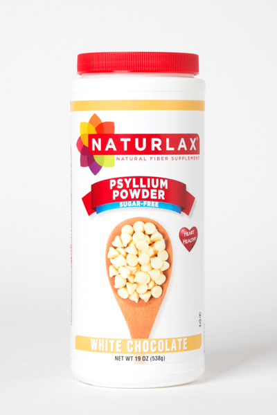 White Chocolate Flavored Psyllium Husk Powder