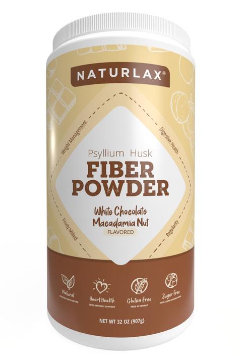 White Chocolate Macadamia Nut Flavored Psyllium Husk Powder