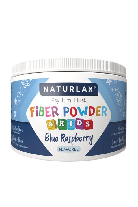 Blue Raspberry Flavored Fiber for Kids