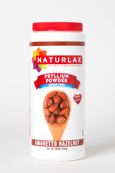 Amaretto Hazelnut Flavored Psyllium Husk Powder