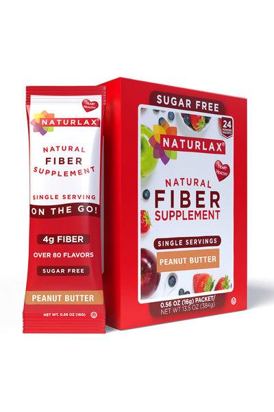 Peanut Butter Flavored Fiber Packets (24-Pack)