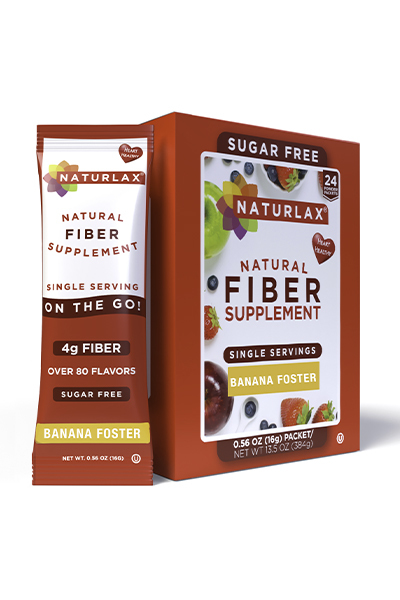Banana Foster Flavored Fiber Packets (24-Pack)