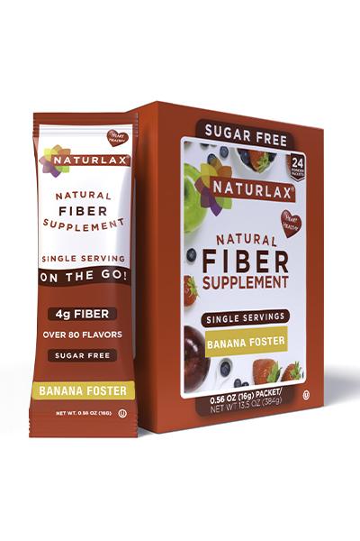 Banana Foster Flavored Fiber Packets (24-Pack)