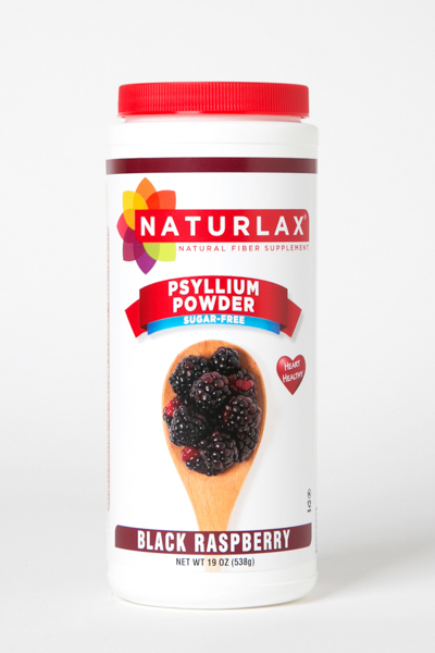 Black Raspberry Flavored Psyllium Husk Fiber Powder