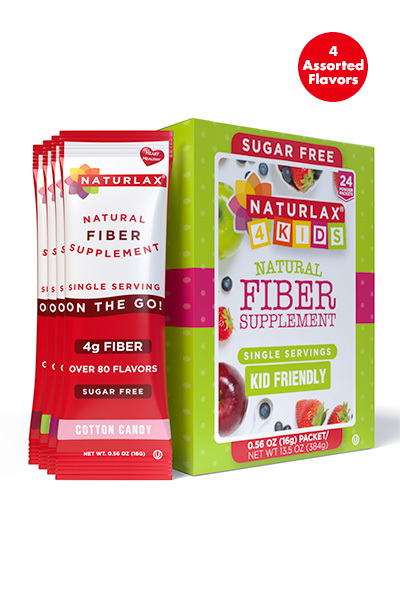 "Kid Friendly Flavors Variety Fiber Pack ""Adults can have it too"""