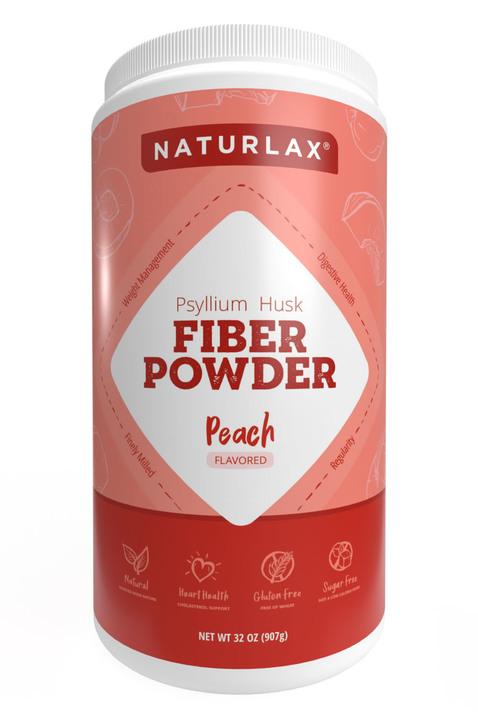 Peach Flavored Psyllium Husk Powder