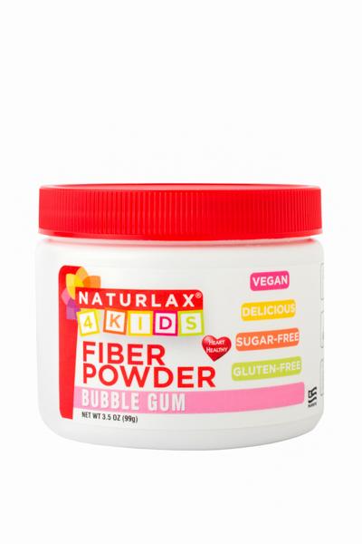Bubble Gum Flavored Fiber for Kids 3.5oz