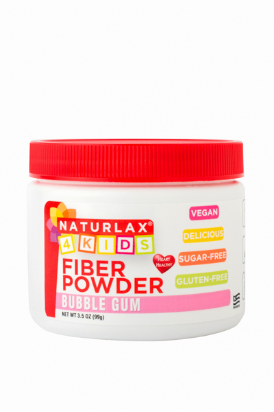 Bubble Gum Flavored Fiber for Kids 3.5oz