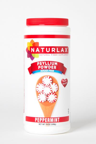 Peppermint Flavored Psyllium Husk Powder