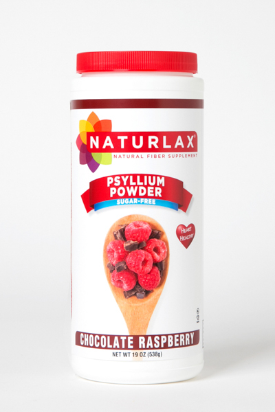Chocolate Raspberry Flavored Psyllium Husk Powder