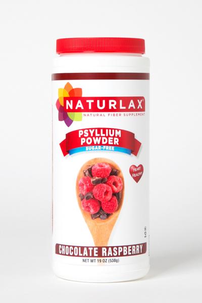 Chocolate Raspberry Flavored Psyllium Husk Powder