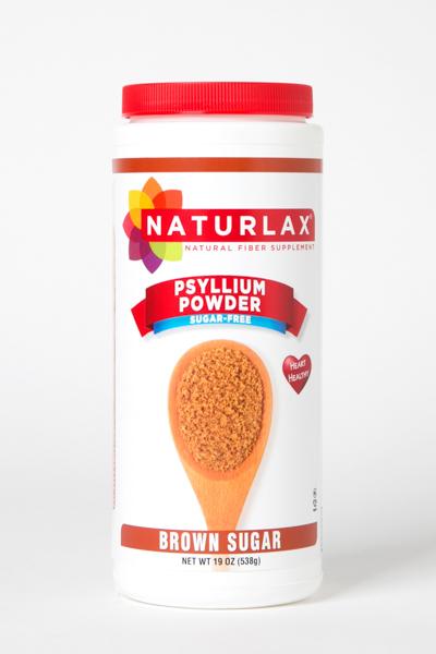 Brown Sugar Flavored Psyllium Husk Fiber Powder