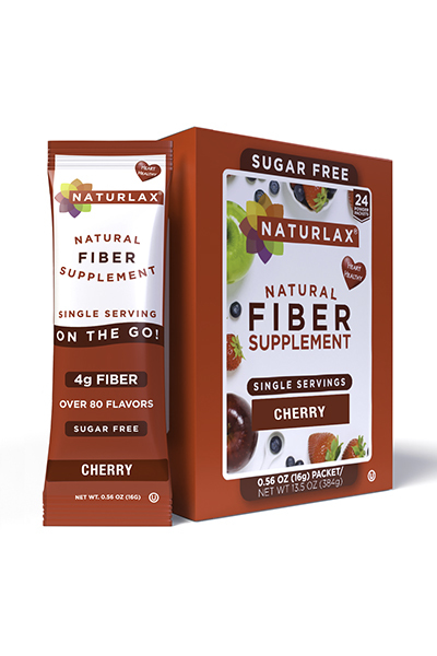 Cherry Flavored Fiber Packets (24-Pack)