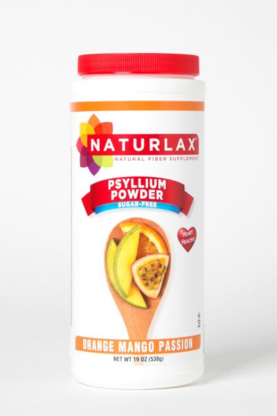 Orange Mango Passion Flavored Psyllium Fiber Husk