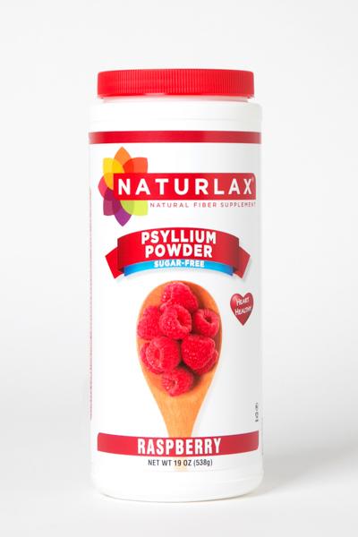 Raspberry Flavored Psyllium Husk Powder