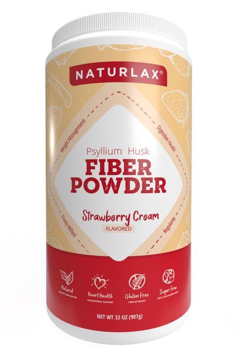 Strawberry Cream Flavored Psyllium Husk Powder