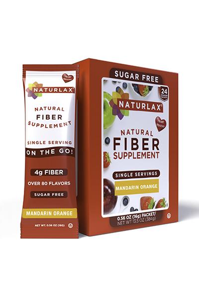 Mandarin Orange Flavored Fiber Packets (24-Pack)