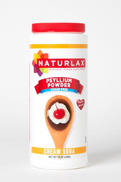 Cream Soda Flavored Psyllium Husk Powder