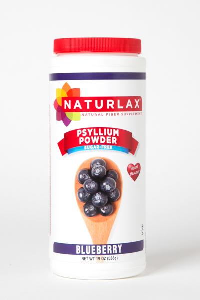 Blueberry Flavored Psyllium Husk Fiber Powder