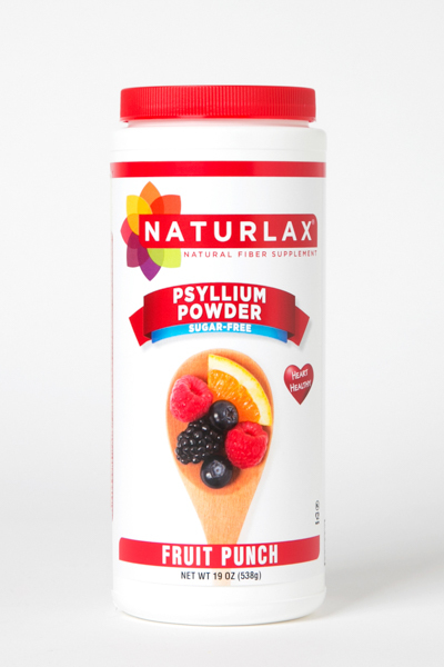 Fruit Punch Flavored Psyllium Husk Powder