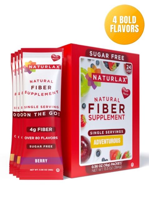 Adventurous Flavors Variety Fiber Packets (24-Pack)