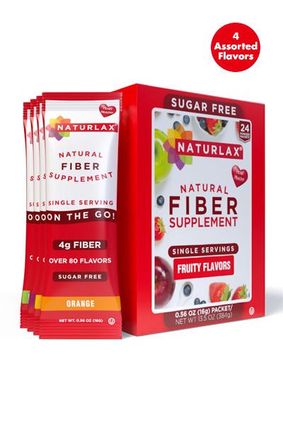 Fruity Flavors Variety Fiber Pack (24-Pack)