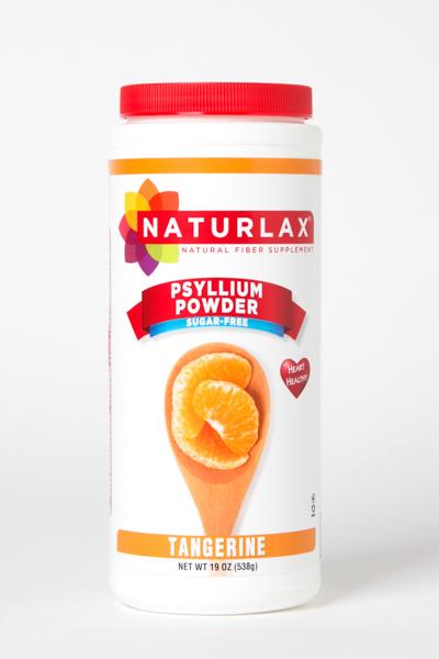 Tangerine Flavored Psyllium Husk Powder