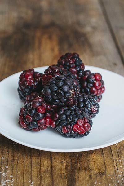 Black Raspberry Flavored Psyllium Husk Powder