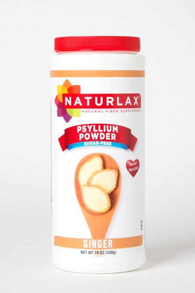 Ginger Flavored Psyllium Husk Powder