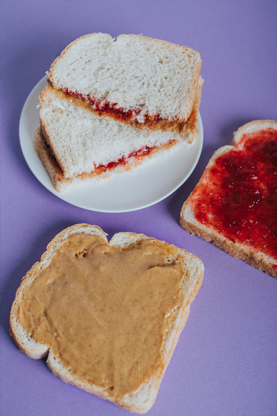 Peanut Butter & Jelly Flavored Fiber for Kids