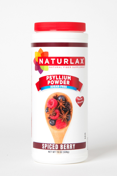 Spiced Berry Flavored Psyllium Husk Powder