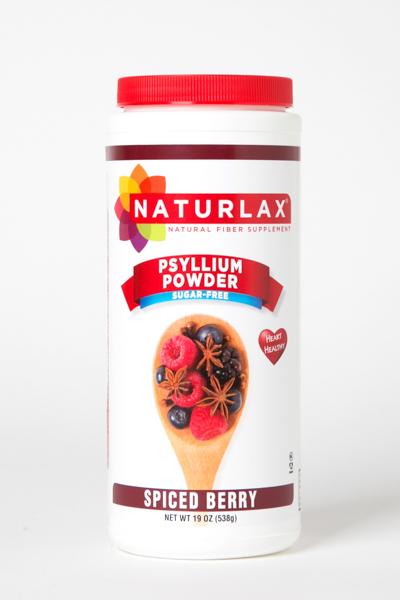 Spiced Berry Flavored Psyllium Husk Powder