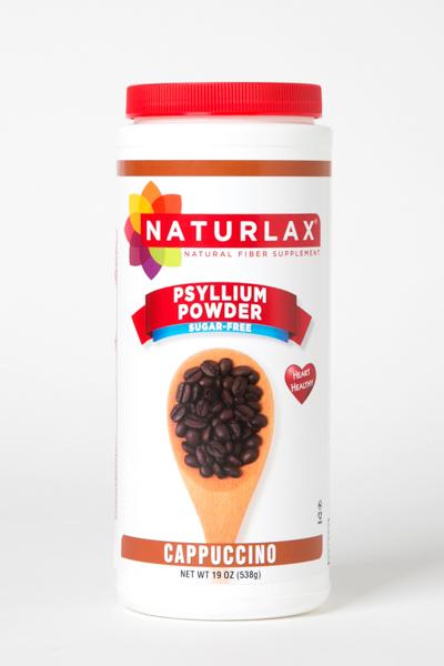 Cappuccino Flavored Psyllium Husk Powder