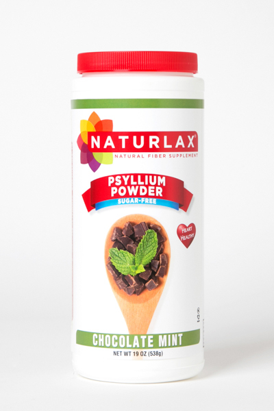 Chocolate Mint Flavored Psyllium Husk Powder