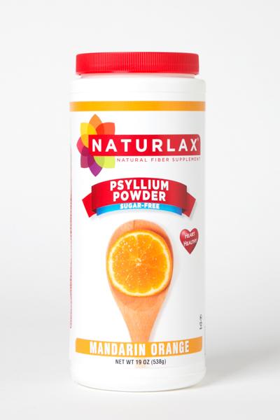 Mandarin Orange Flavored Psyllium Husk Powder