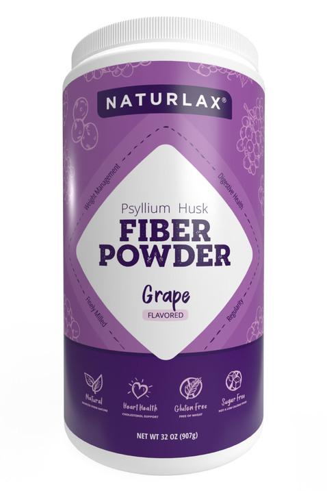 Grape Flavored Psyllium Husk Powder