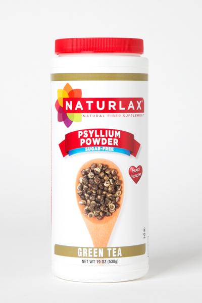 Green Tea Flavored Psyllium Husk Powder