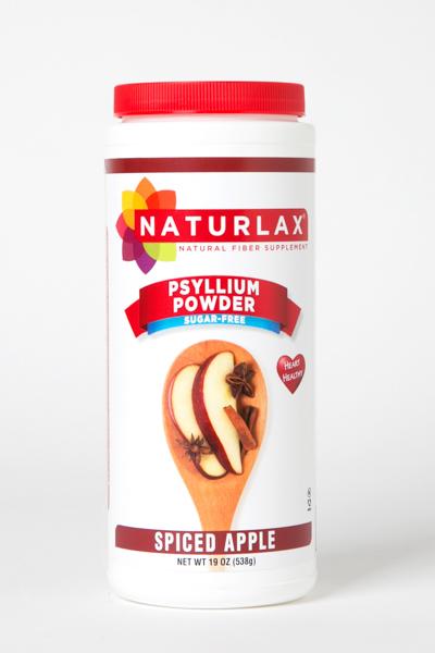 Spiced Apple Flavored Psyllium Husk Powder