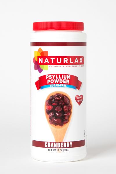 Cranberry Flavored Psyllium Husk Powder