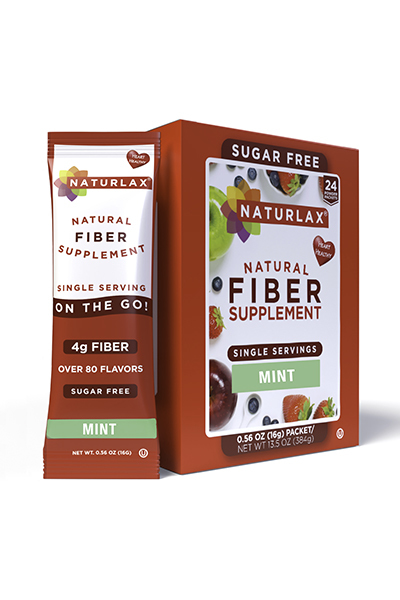 Mint Flavored Fiber Packets (24-Pack)