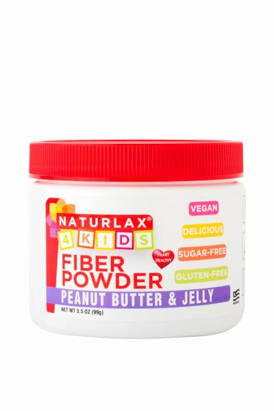 Peanut Butter & Jelly Flavored Fiber for Kids 3.5oz