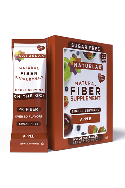 Apple Flavored Fiber Packets (24-Pack)